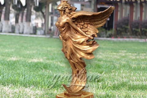 Amazing sexy angels bronze statues
