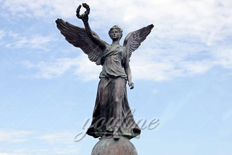Large Bronze Angel Sculptures for Outdoor