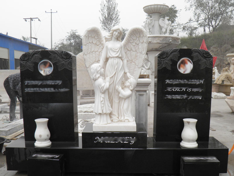 marble Stone Angels Marble Statues for father mother
