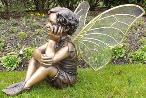480 Large Home Decoration Bronze Angel Sculpture