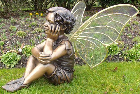 480 Large Home Decoration Bronze Angel Sculpture