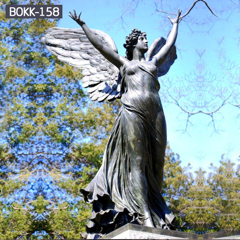 800 Female Figure Angel Bronze Archangel Statue