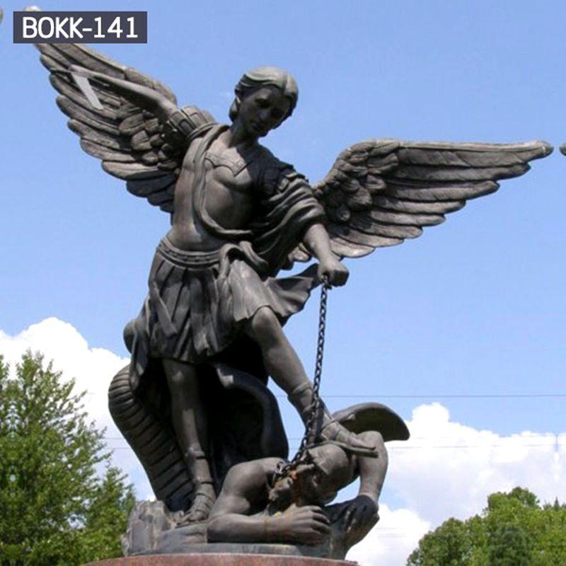 800 Famous Bronze Angel Archangel Saint Michael Statue