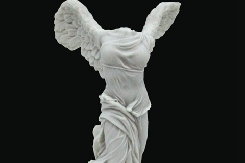 Victory Nike of Samothrace Marble Statue (3)
