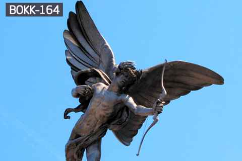 Famous Eros Cupid Archery Bronze Angel Statue (2)