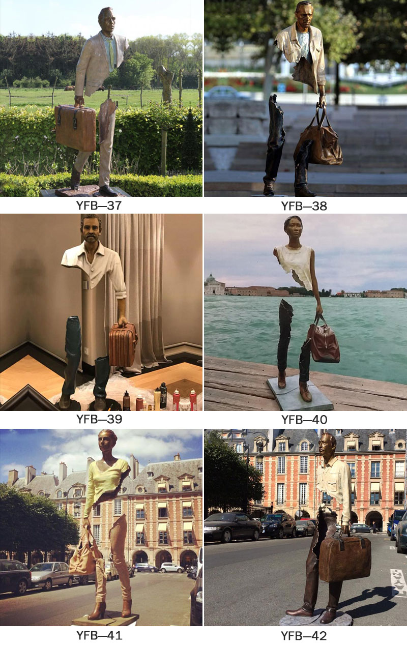 Customized Famous Bronze Bruno Catalano Statue (3)