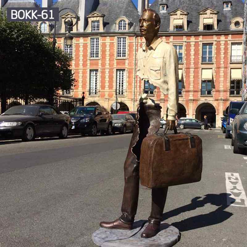 Customized Famous Bronze Bruno Catalano Statue (4)