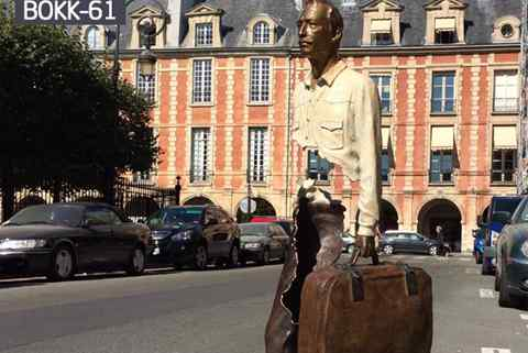 Customized Famous Bronze Bruno Catalano Statue (5)