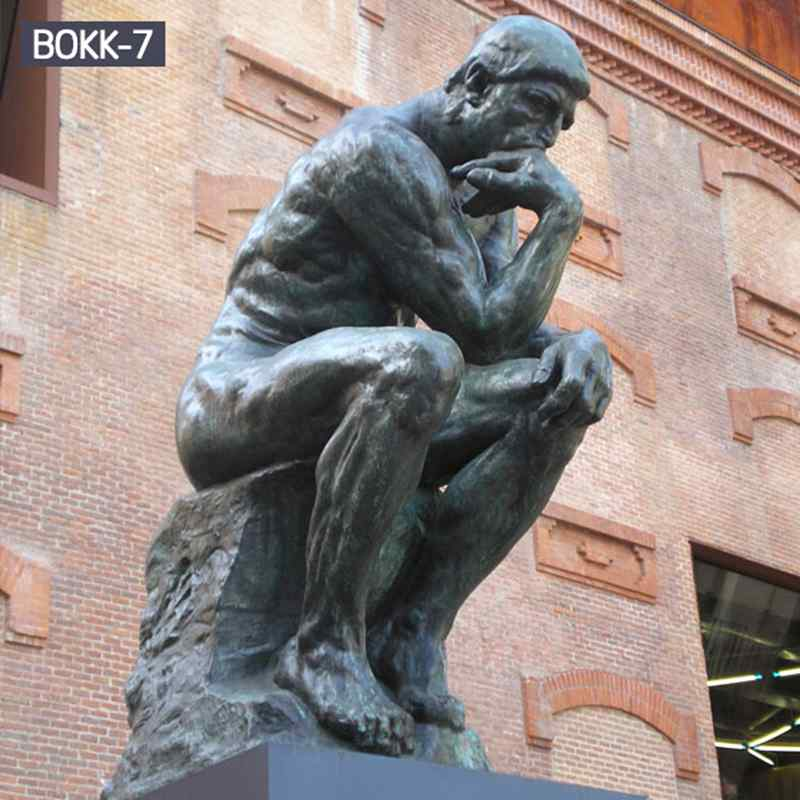 Famous Bronze The Thinker Statue by Auguste Rodin (1)