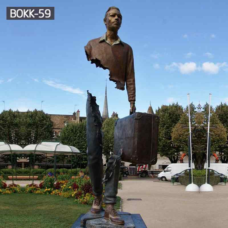 Famous Popular Park Decorative Cast Bronze Bruno Catalano Statue (1)