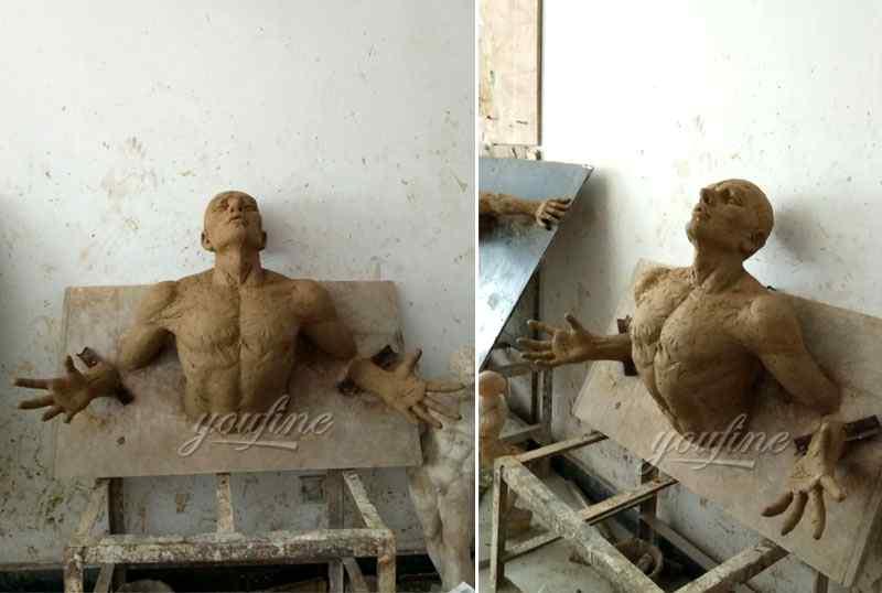 Famous Artwork Bronze Matteo Pugliese Statue Model