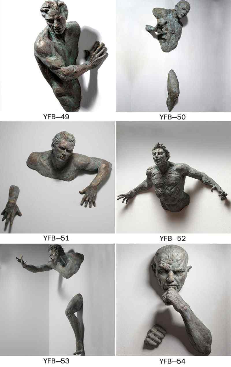 Famous Artwork Bronze Matteo Pugliese Statues