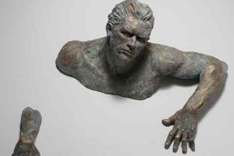 Famous Extra Moenia Italy Artwork Bronze Matteo Pugliese Statue (2)