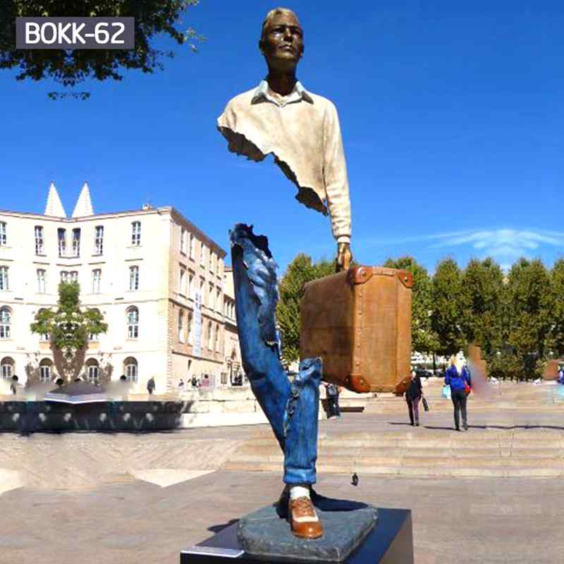 Famous Life Size Bronze Bruno Catalano Statue for Sale (1)
