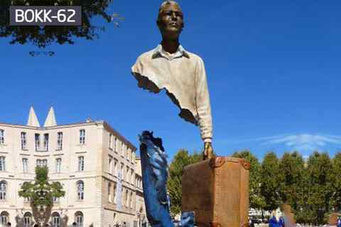 Famous Life Size Bronze Bruno Catalano Statue for Sale