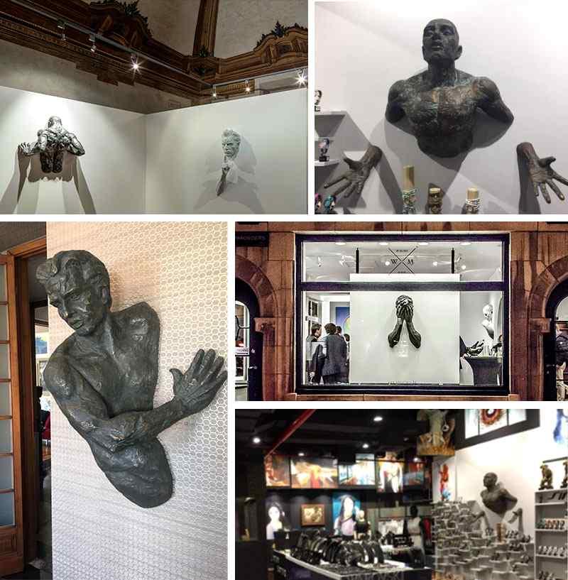 Feedback of Home Decoration Life Size Bronze Matteo Pugliese Statue
