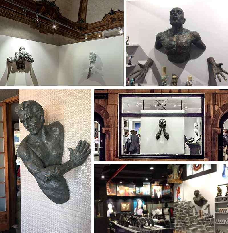 Feedback of Hot Sale Famous Life Size Bronze Matteo Pugliese Statue