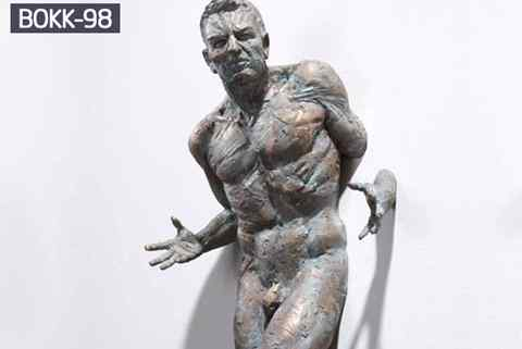 Hot Sale Famous Life Size Bronze Matteo Pugliese Statue (2)