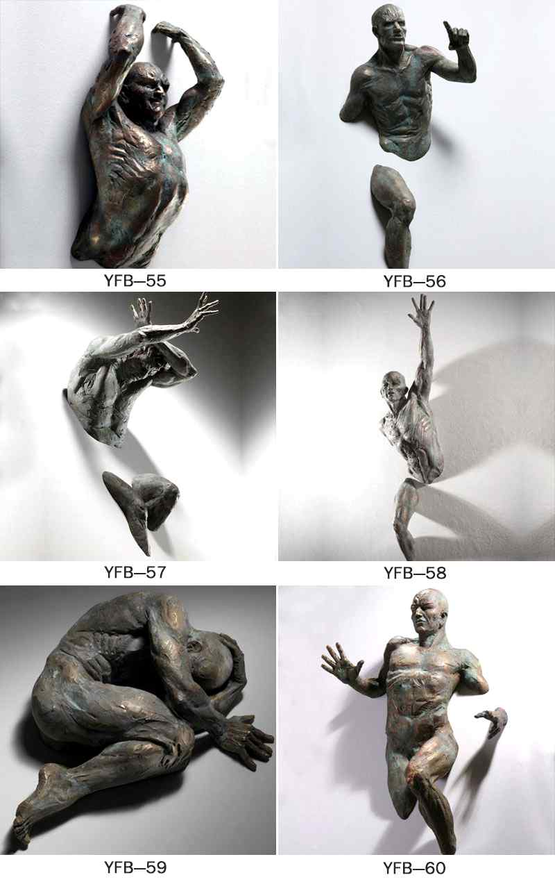 Hot Sale Famous Life Size Bronze Matteo Pugliese Statues